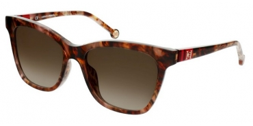 Carolina Herrera SHE867 0GGU - SHINY MELANGE BROWN