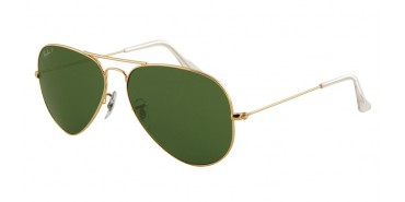 Ray-Ban RB3025 AVIATOR LARGE METAL 001/58 POLARIZADA